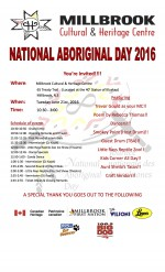 National Aboriginal Day 2017 celebrations