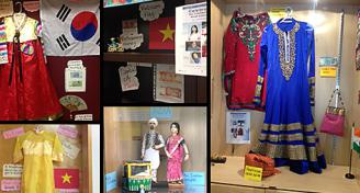CCRSB students, teachers and staff shared information, art and music in celebration of Asian Heritage Month.